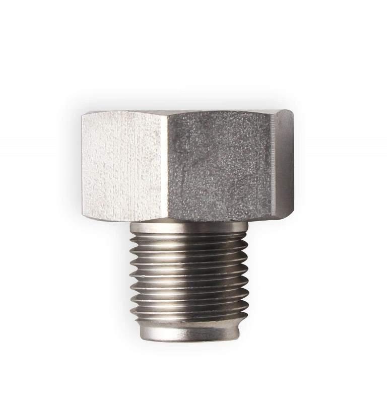 1//2-20 Inverted 3//16 x 8 Steel Brake Line Adapter 3//8-24 Inverted