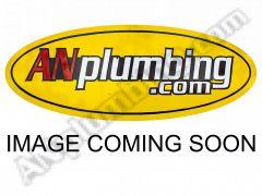 180 Deg. Race Crimp SWIVEL Hose End to A.N. Female Swivel (Jump Size) - Black - Aluminum