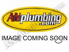 180 Deg. Race Crimp SWIVEL Hose End to Clamshell Female (Jump Size) - Black - Aluminum