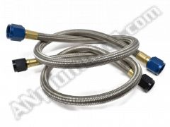 -6 A.N. Straight to -6 A.N. Straight Hose Assembly - Aluminum Ends