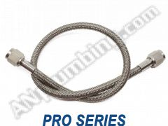 -4 St. / St. PTFE Hose Assy - Stainless Ends